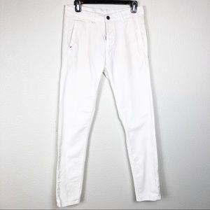 Zara Man white skinny jeans. Size 29